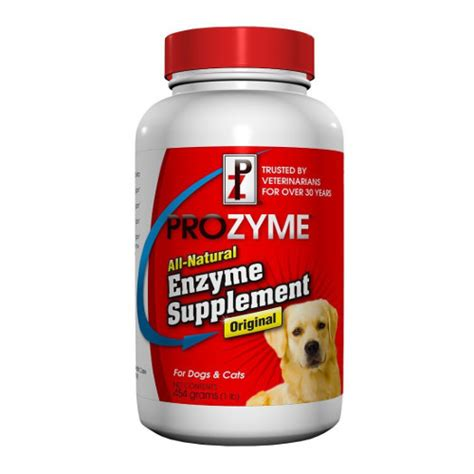 supplements for food prozyme enzyme food supplement for dogs cats chlain pets