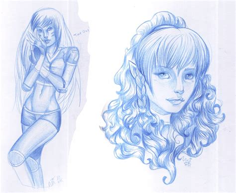 blue sketch pencil sketches of nature of sceneries landscapes of flowers of of of roses