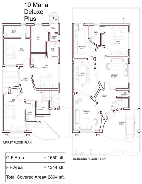 home maps design 10 marla house plan of a 5 marla plot joy studio design gallery