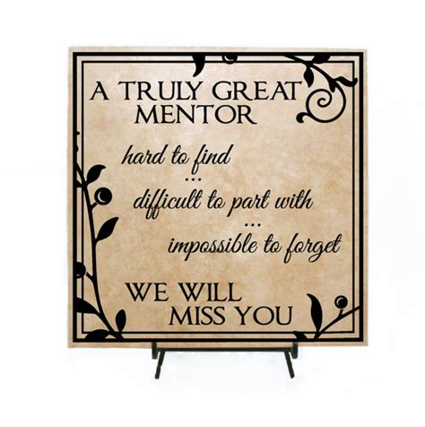 thank you letter retirement gift truly great mentor personalized retirement sign thank you