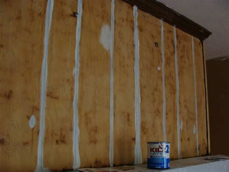 primer for wood paneling fabtwigs wood paneling fireplace makeover how to fill