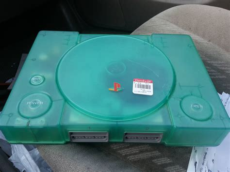 ps1 console green ps1 console any info on these gamecollecting