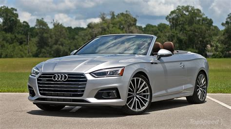 new audi a5 2018 2018 audi a5 cabriolet driven top speed