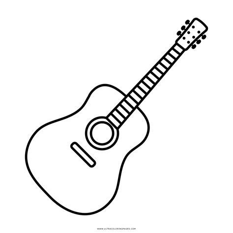 imagenes de guitarras faciles para dibujar dibujo de guitarra para colorear ultra coloring pages