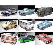 Paper Models Of Russian Vehicles