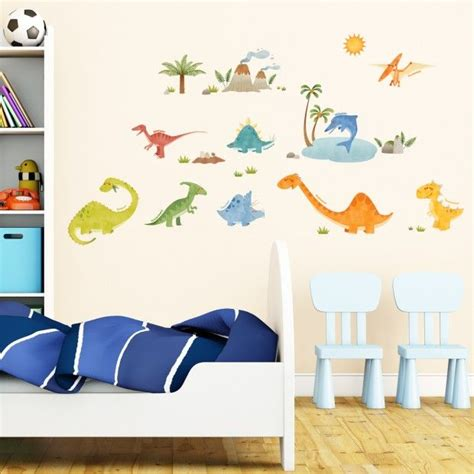 dinosaur decals for bedroom 25 best ideas about dinosaur wall stickers on pinterest