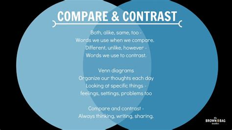 pa distance learning project tip of the week compare and contrast