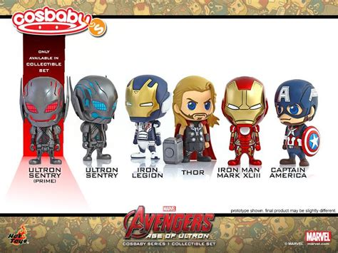 Toys Cosbaby Vision Civil War Ori toys age of ultron cosbaby series 2 vision