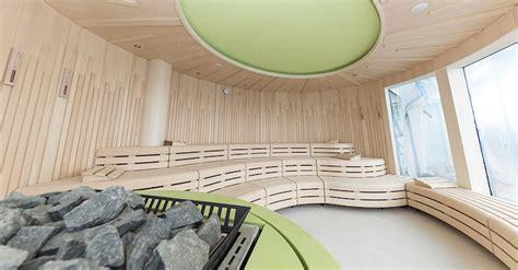 organic spa aida aidaprima sauna im detail