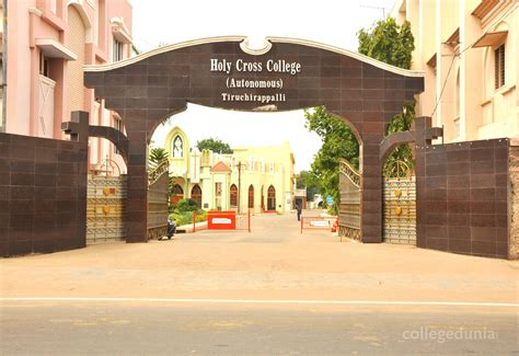 Holy Cross Mba by Holy Cross College Autonomous Thiruchirapalli Courses
