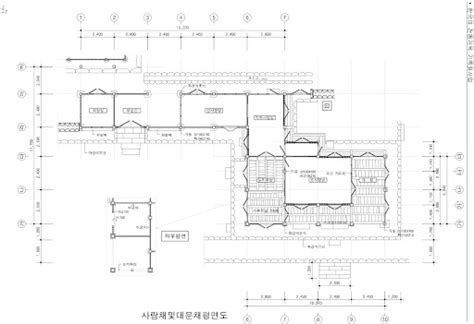 hanok floor plan hanok house floor plan house plans