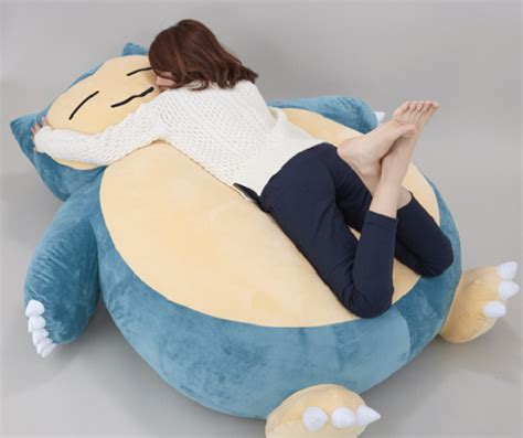 snorlax couch soon you ll be able to snore away on your very own snorlax