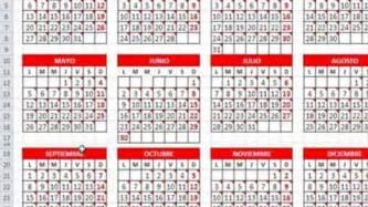 Calendario Juliano Calendario Juliano 2016 Excel Calendar Printable 2017