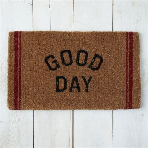 modern doormats good day coir doormat contemporary doormats by