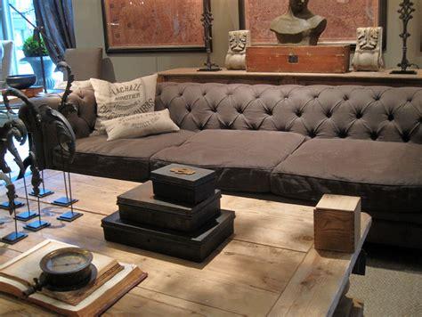 reviews of restoration hardware sofas living room elegant seater dark brown leather