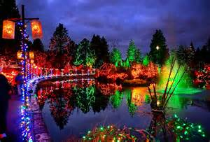 Patio Lights Vancouver Happy Holidays Vandusen Botanical Garden At Flickr