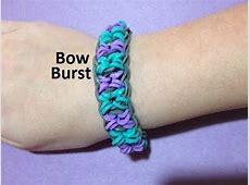 How to Make a Bow Burst Bracelet on the Rainbow Loom ... Rainbow Loom Bow Tie Bracelet
