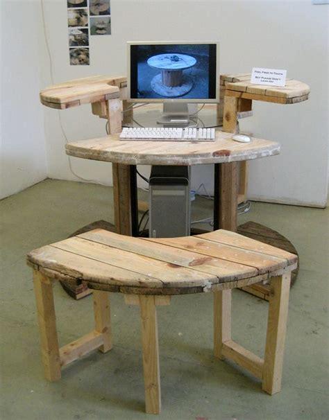 Wire Computer Desk Cable Reel Desk Cable Reel Desks And Computer Desks
