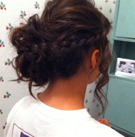 formal hairstyles messy bun with braid 20 exciting new intricate braid updo hairstyles popular