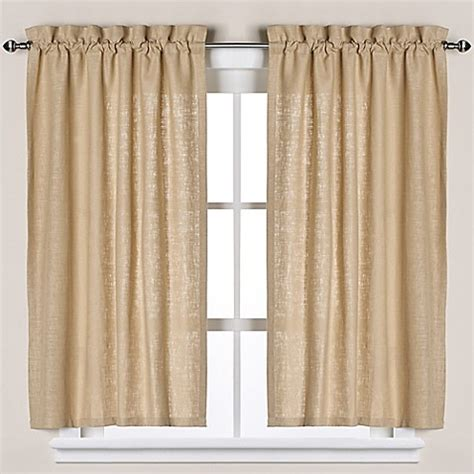 Bed Bath Beyond Window Curtains Soho Linen Bath Window Curtain Tier Pair Bed Bath Amp Beyond