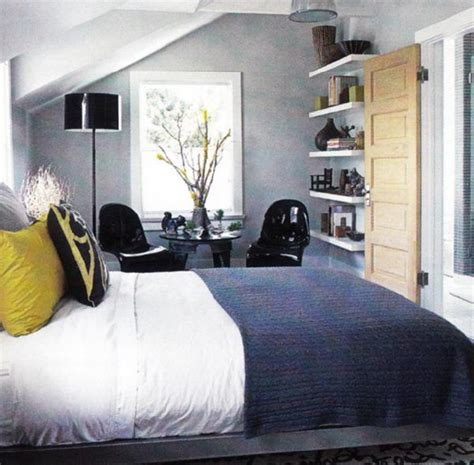 Grey Yellow Blue Bedroom by Blue Yellow Gray Bedroom Contemporary Bedroom
