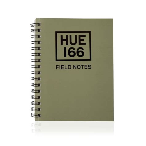 Small Note Book land rover hue note book small a6 green