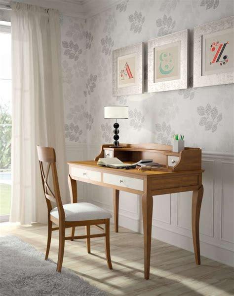 laras para buro vintage escritorio bur 243 basilea miel patinado y blanco envejecido