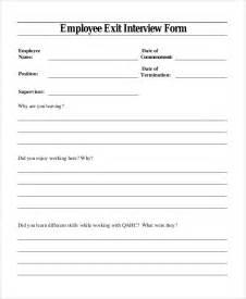 exit questionnaire template exit template madinbelgrade