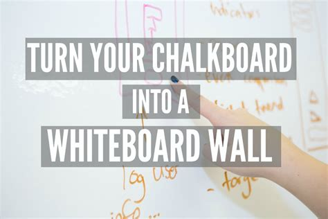 chalkboard paint vs whiteboard convert your chalkboard into a whiteboard wall smarter