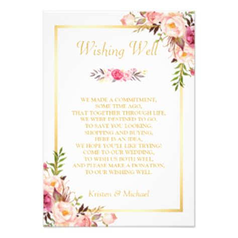 Wedding Wishes Gift by Wedding Wishes Gifts On Zazzle