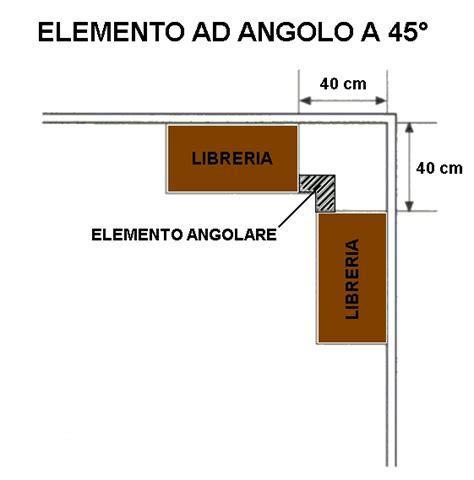 librerie ad angolo elemento ad angolo in legno per librerie