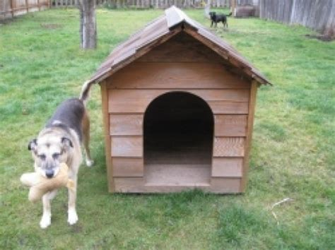 homemade dog house plans make your own homemade dog house hubpages