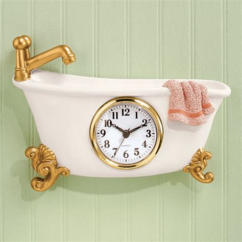 bathtub clock bathroom clocks bathroom shower