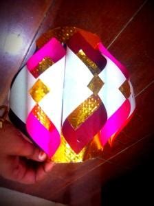 How To Make A Diwali L With Paper - make diwali paper lanterns or aaakash kandil at home diy