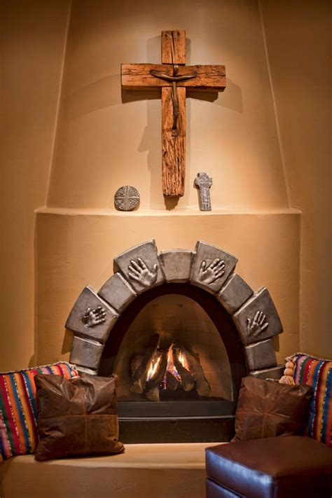 is this a custom kiva fireplace or a prefab kiva if