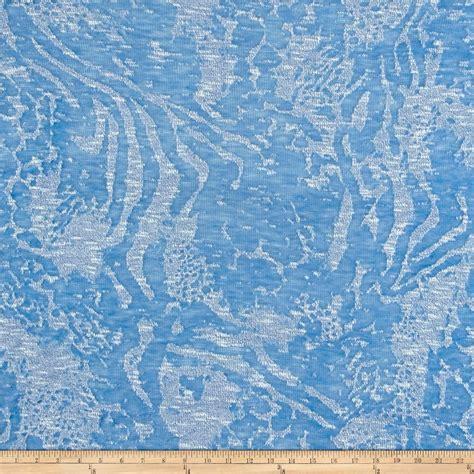 scotland sweater knit ivory discount designer fabric rihan lightweight burnout sweater knit light blue ivory