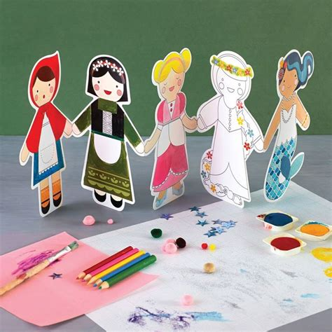 Paper Dolls Chain - best 25 paper doll chain ideas on snowflake
