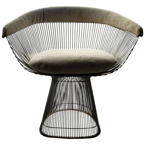 Platner Dining Chair Warren Platner Dining Chair For Knoll At 1stdibs