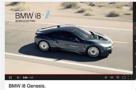 bmw i8 genesis commercial bmw i8 hibridno vozilo in oglasi