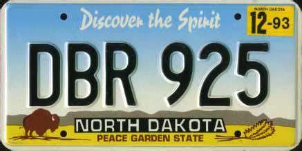 printable paper license plates south dakota ohio