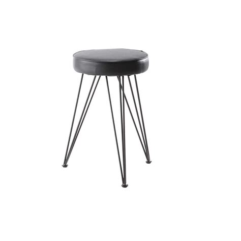 Charcoal Stool by Charcoal Grey Stool Caps Caps Maisons Du Monde