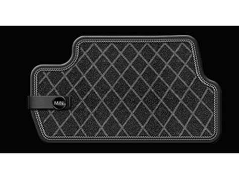Mini Cooper Countryman Floor Mats by Mini Cooper Floor Mat All Weather Rear Black Oem G