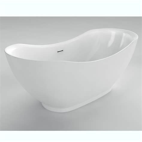 5 foot freestanding bathtub acri tec antoine 5 feet 6 inch acrylic freestanding