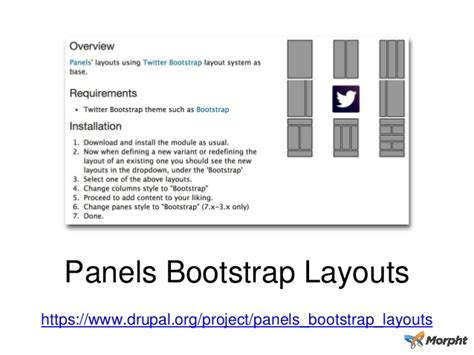 bootstrap layout module using bootstrap in drupal 7