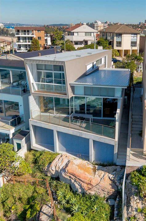 queenscliff casa al borde de  acantilado en sydney arquitectura ideal