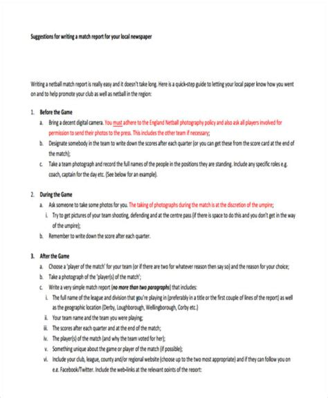 how to write a news report template 10 report writing exles pdf
