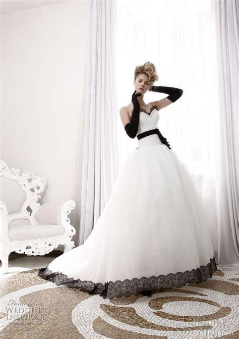 atelier aimee wedding dresses black  white