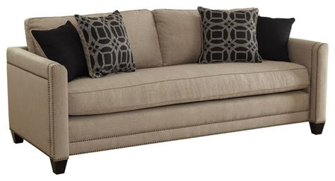 pratten sofa with transitional style transitional
