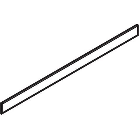 blum file drawer rails blum zrm 1100g metafile glide profile white