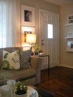 difficult living room layout too many entrances artful addition grey walls front rooms and grey